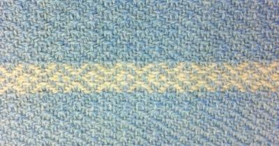 blue wool diamond twill