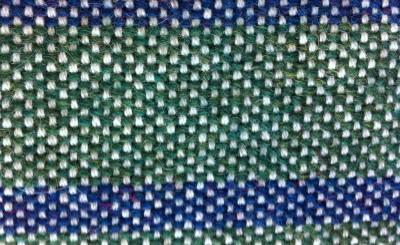 half basket weave in shetland and lopi